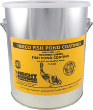 Herco Neoprene White Rubber Pond Coating, 1 gallon