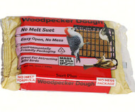 Wildlife Sciences Woodpecker No-Melt Suet Dough 11 oz Suet Cake, 12 Pack WSC359