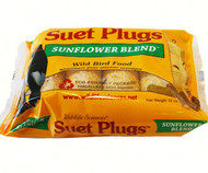 Wildlife Sciences Sunflower Suet Plugs , 12 Pack WSC781