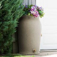 Impressions Amphora 50-Gallon Rain Saver Barrel in Sandstone