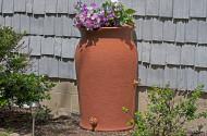 Impressions Amphora 50-Gallon Rain Saver Barrel in Terra Cotta