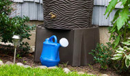 Good Ideas Rain Wizard Universal Rain Barrel Stand, Assorted Colors