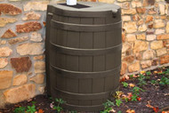 Good Ideas Rain Wizard Rain Barrel 50-Gallon, Assorted Colors