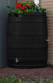 Good Ideas Rain Wizard Rain Barrel 65-Gallon, Assorted Colors
