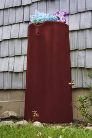 Good Ideas Impressions Reflections Rain Saver Rain Barrel, 50 gallon, Sandstone