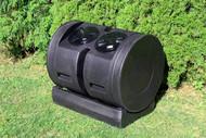 Good Ideas CW-2X12 Senior Wizard Dual Tumbler Compost Bin, 11 Cubic Feet