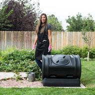 Good Ideas 7-Cubic-Foot Compost Wizard Jr. EZCJR-BLK