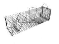 Tomahawk Live Trap 603F - Flush Mount Squirrel, Rat, Muskrat Trap with Rear Access Door