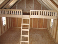 Little Cottage Company Playhouse Loft Upgrade