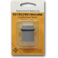 Invisible Fence R21 R22 and R51 Compatible Replacement Dog Collar Battery