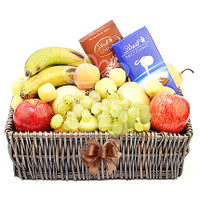 Seasonal Fruit And Chocolate Hamper