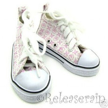 Cons Lace-Up Sneakers Boots Shoes for SD13 Boy Rainy Girl BJD Dollfie Dolls