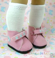 American Girl Doll Shoes Lilac Suede Sneakers #S05