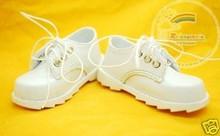 Classic Lace-Up Boy Shoes White for SD13 Boy Rainy Girl BJD Dollfie Dolls