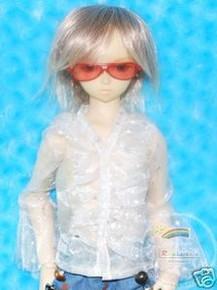 Dollfie SD Sunglasses Red Frame Red Lens #RS01