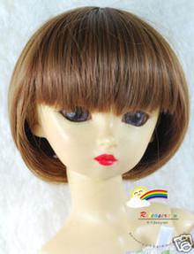Dollfie SD Chestnut Brn 8-9 Heat Resistance Wig #D3177