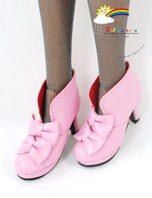 "16"" Tonner Tyler/Gene Shoes Bows Ankle Boots Pink"