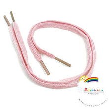 30cmx0.4cm Doll Shoelaces For Blythe Shoes Baby Pink