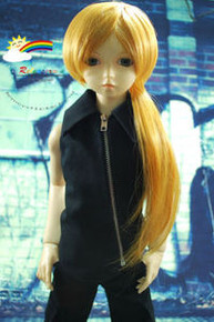 Dollfie SD Honey Gold 8-9 Heat Resistant Wig #D3179