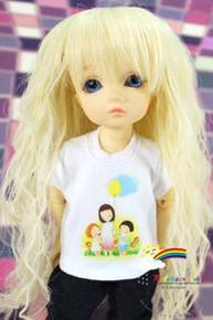 Dollfie Yo-SD Outfit White Short-Sleeve Tee Mum Balloon