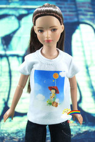"""12"""" Tonner Marley Doll Outfit White T-Shirt Spring Day"""