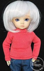 Turtleneck Top Rose Doll Clothes for Yo-SD Size BJD Dollfie Dolls