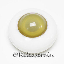 BJD Dollfie Doll Glass Eyes Olive Oil/Olive 18mm #PD06