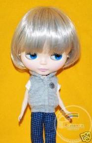 Blythe Grey Silver Bob 10/11 Wig #L001-60