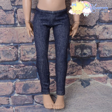 "Releaserain Doll Clothes Denim Stretch Tights Pants Leggings for 14"" Kish dolls"