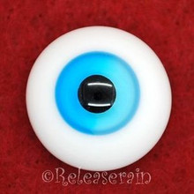Dollfie Glass Eyes SD MSD 18mm Lake Blue Mix Sky #ET59