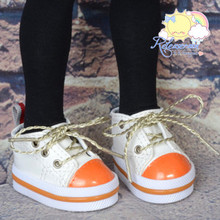 "Lace-Up Chunky Sneakers Shoes #K17 for MSD Kaye Wiggs BJD Dollfie 16"" Sasha Doll"