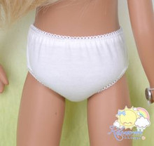 "Doll Clothes Underwear White Lace Panties Underpants Undies for 16"" Sasha Dolls"