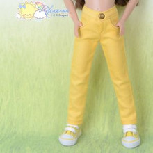 "Doll Clothes Candy Jeans Pants Mango Yellow for 12"" Tonner Marley Wentworth"