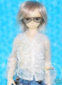 Dollfie SD Sunglasses Charcoal Frame Grey B Lens #RS03