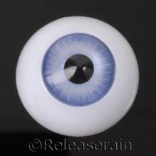 Doll Acrylic Eyes Half Round Pastel Blue #R001 20mm for BJD Dollfie, Reborn Dolls