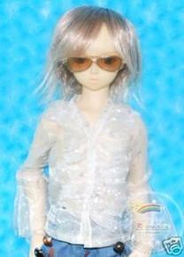 Dollfie SD Sunglasses Gold Frame Tea Brown Lens #RS02