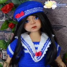 Ada Doll Cuddly MSD BJD Tan Skin Girl Avril