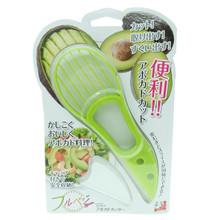 Shimomura Avocado Fruit Cutter Peeler Slicer Kitchen Salad Tool Made in Japan