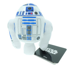 Japan Takara Tomy Star Wars Arts Beans Collection Stuffed Toy Plush Doll R2-D2 Sitting Height About 12cm