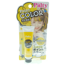 Dariya Palty Japanese Point Tube Yellow Dye Hair Color Cream Chalk 15g (0.53oz) Japan Import Made in Japan