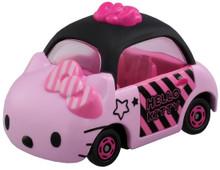 Takara Tomy Dream Tomica Sanrio Hello Kitty Stripe Ribbon Diecast Toy Car Japan Import