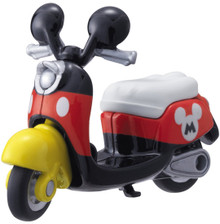 Takara Tomy Disney Motors DM-13 Mickey Mouse Chimuchimu Motor Bike Diecast Toy Japan Import