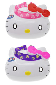 Sanrio Festival Hello Kitty PVC Costume Party Japanese Omen Mask For Children/Kids Set of 2 Made in Japan