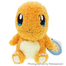 "Sekiguchi Pocket Monsters Pokemon MokoMoko Charmander Hitokage 7"" Plush Doll Japan Import"