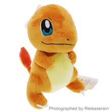 Sanei Pocket Monsters Pokemon All Star Collection PP18 Charmander (S) 17.5cm Plush Doll Japan Import