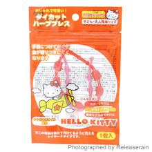 Santan Sanrio Hello Kitty Mosquito Repellent Citronella Double Bracelet Japan Import