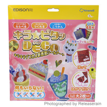 Edison Mama Kinanvill Kira Pita Deco Decal Seal Craft Desserts Animal Set Japan Import