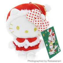 Sanrio Original Christmas 2016 Hello Kitty Ornament Stuffed Toy Plush Doll Japan Import