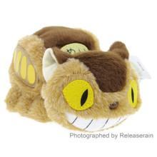 Sun Arrow Studio Ghibli My Neighbor Totoro Soft Fluffy Beanbag Catbus Nekobasu 16cm Stuffed Plush Doll Japan Import
