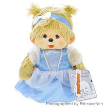 Original Sekiguchi Monchhichi Girl Fairy Tail Cinderella M Size 28cm Stuffed Plush Doll Japan Import